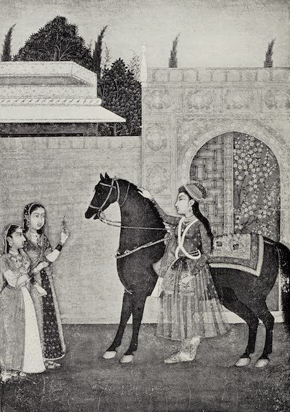 Gardens of the Great Mughals - XX. A Princess at her Garden Gate (1913)