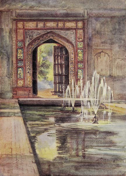 Gardens of the Great Mughals - XXII. The Old Entrance (Shalimar Bagh, Lahore)* (1913)