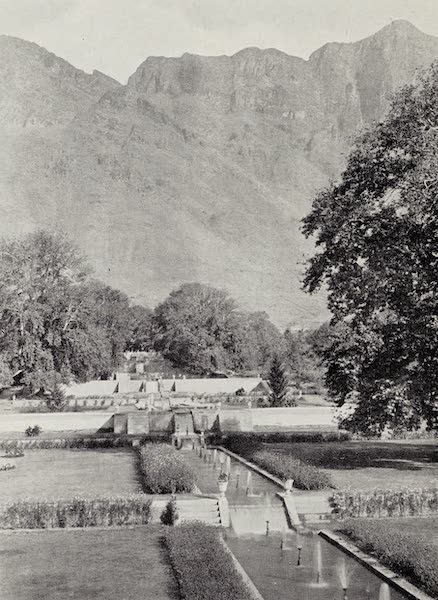 Gardens of the Great Mughals - XXIV. The Nishat Bagh (1913)