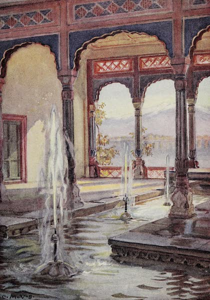 Gardens of the Great Mughals - XXV. The Lower Pavilion (Nishat Bagh)* (1913)