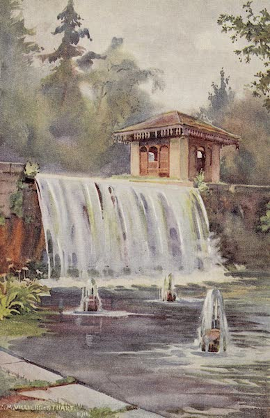 Gardens of the Great Mughals - XXVIII. The Great Waterfall (Achibal Bagh)* (1913)