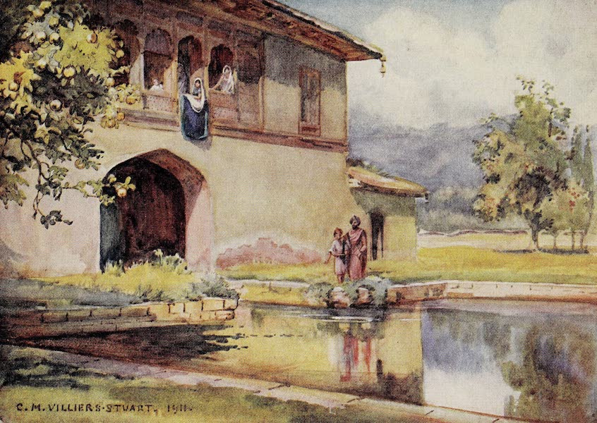 Gardens of the Great Mughals - XXIX. Autumn at Achibal* (1913)