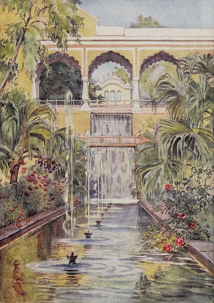 Gardens of the Great Mughals - XXXII. Pinjor* (1913)