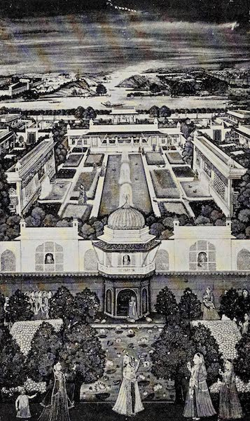 Gardens of the Great Mughals - XXXIII. A Zenana Garden (1913)