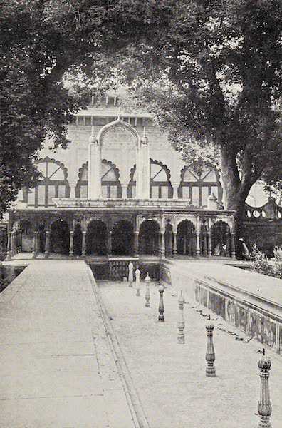 Gardens of the Great Mughals - XXXVII. The Marble Swing (Deeg) (1913)