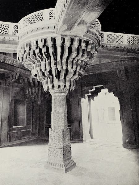 Gardens of the Great Mughals - XXXIX. The Pillar of Vishnu (Fatehpur Sikri) (1913)