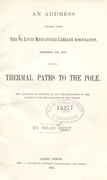 Gateways to the Pole - Title Page (1872)