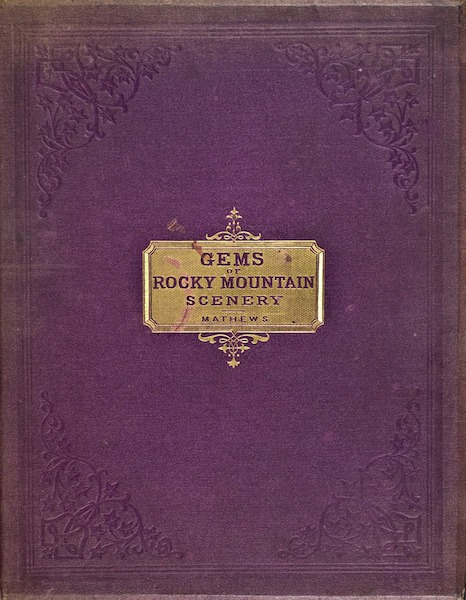 Gems of Rocky Mountain Scenery - Front Cover (1869)