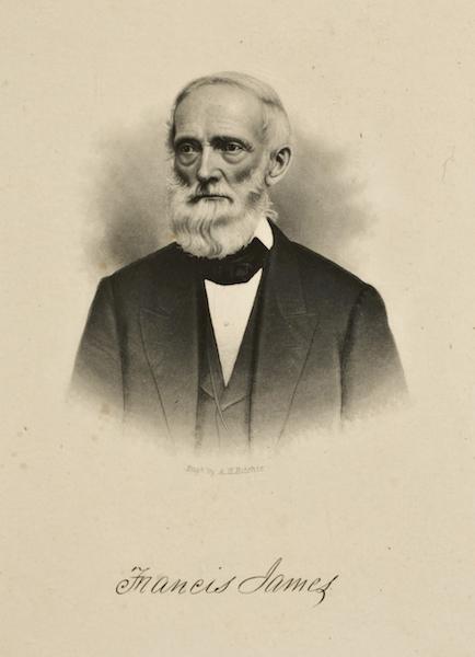 Gems of Rocky Mountain Scenery - Portrait of Francis James (1869)