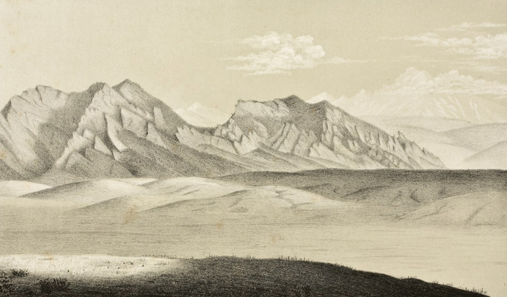 Gems of Rocky Mountain Scenery - Colorado - The Eastern Slope near Denver (1869)
