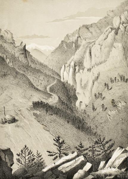 Gems of Rocky Mountain Scenery - Bear Canyon (1869)