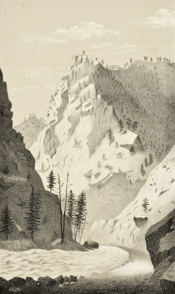 Gems of Rocky Mountain Scenery - Clear Creek Canyon (1869)