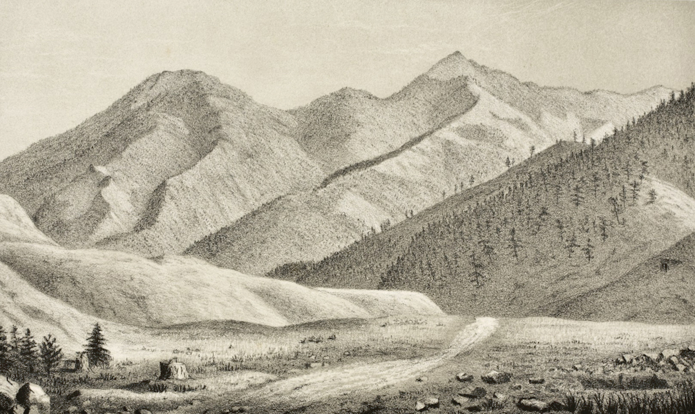 Gems of Rocky Mountain Scenery - The Chief Squaw and Papoose (1869)