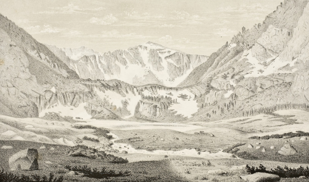 Gems of Rocky Mountain Scenery - Chicago Lakes (1869)