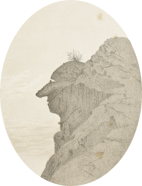 Gems of Rocky Mountain Scenery - The Old Mountaineer (1869)