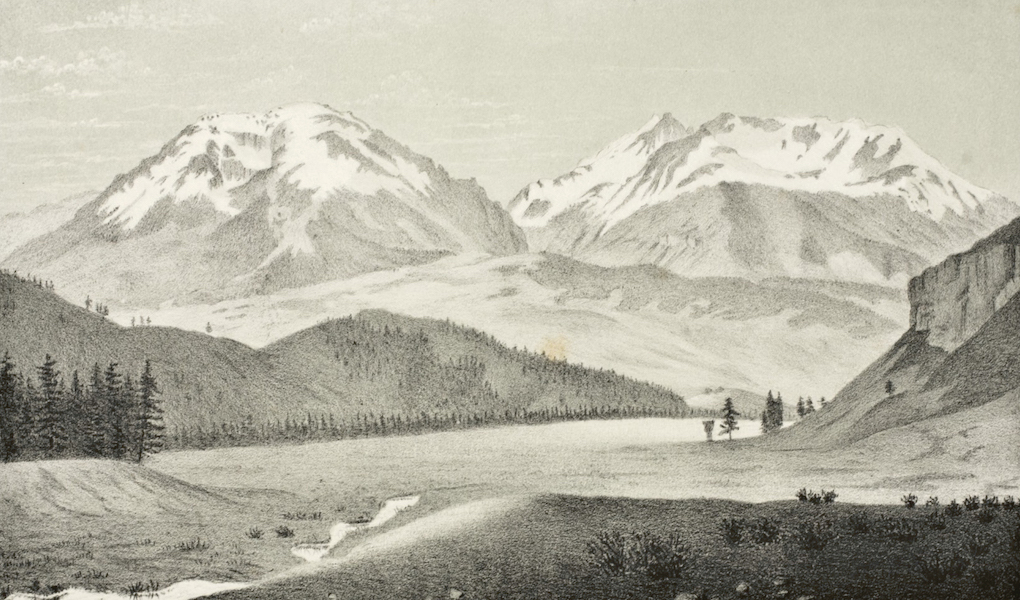 Gems of Rocky Mountain Scenery - Buffalo Mountain (1869)
