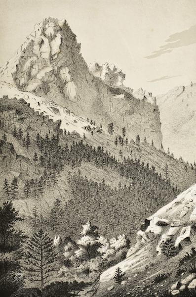 Gems of Rocky Mountain Scenery - Turkey Creek Canyon (1869)