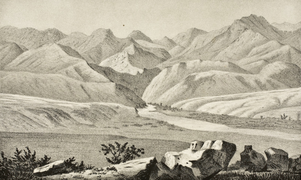 Gems of Rocky Mountain Scenery - Exit of the South Platte from the Mountains (1869)