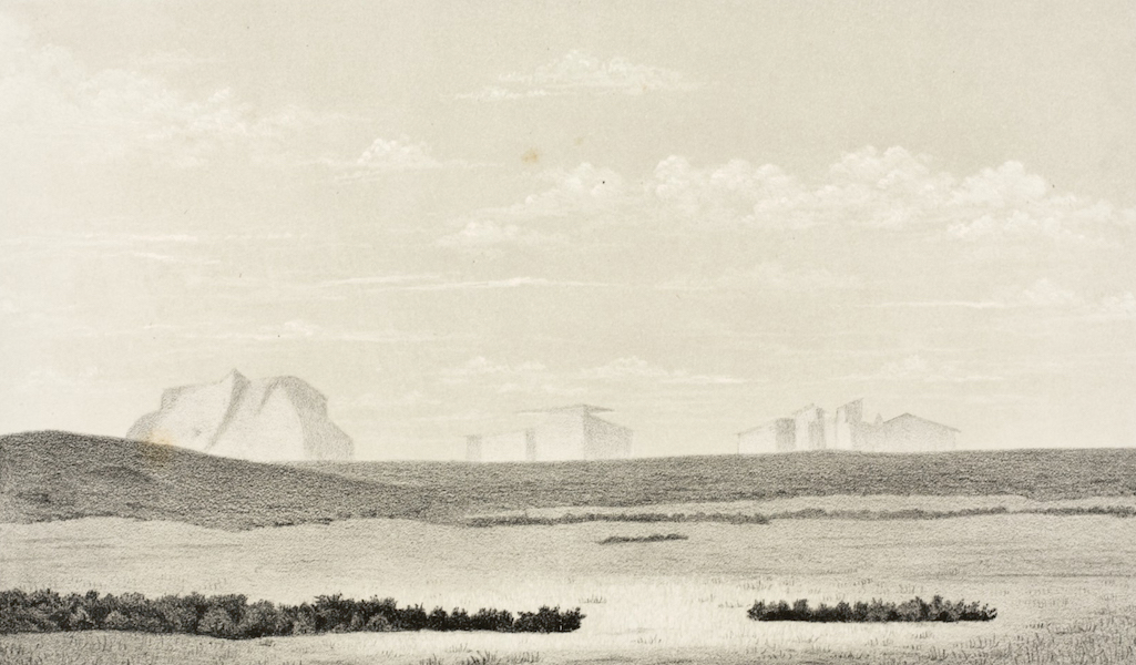Gems of Rocky Mountain Scenery - Idaho - A Mirage on the Plains (1869)