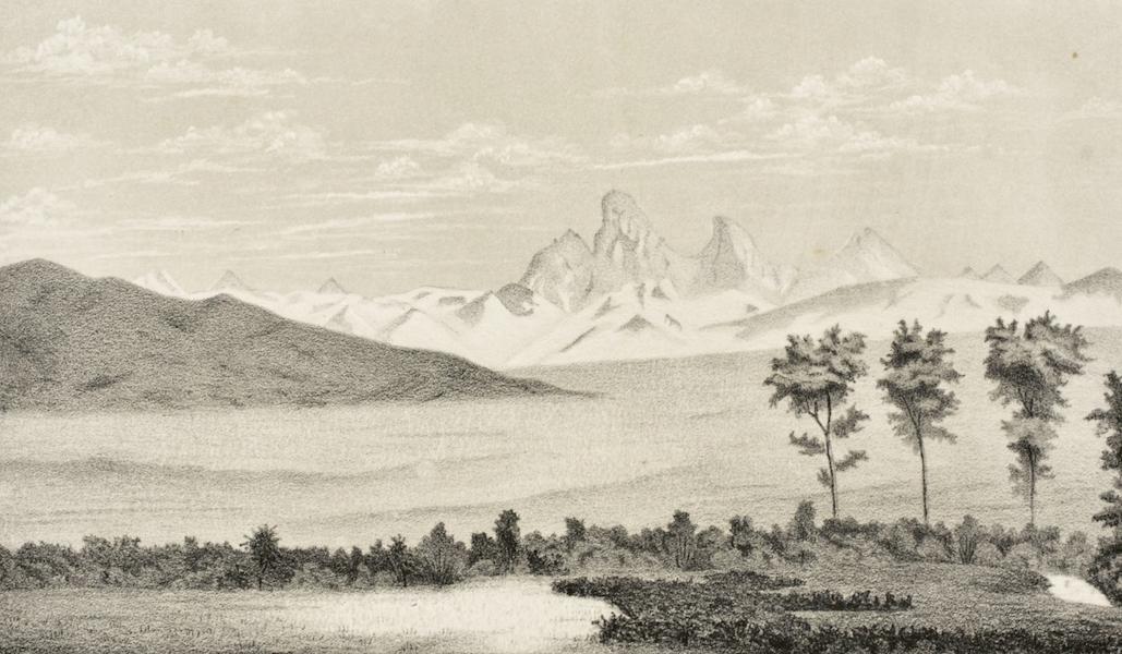 Gems of Rocky Mountain Scenery - The Three Tetons (1869)