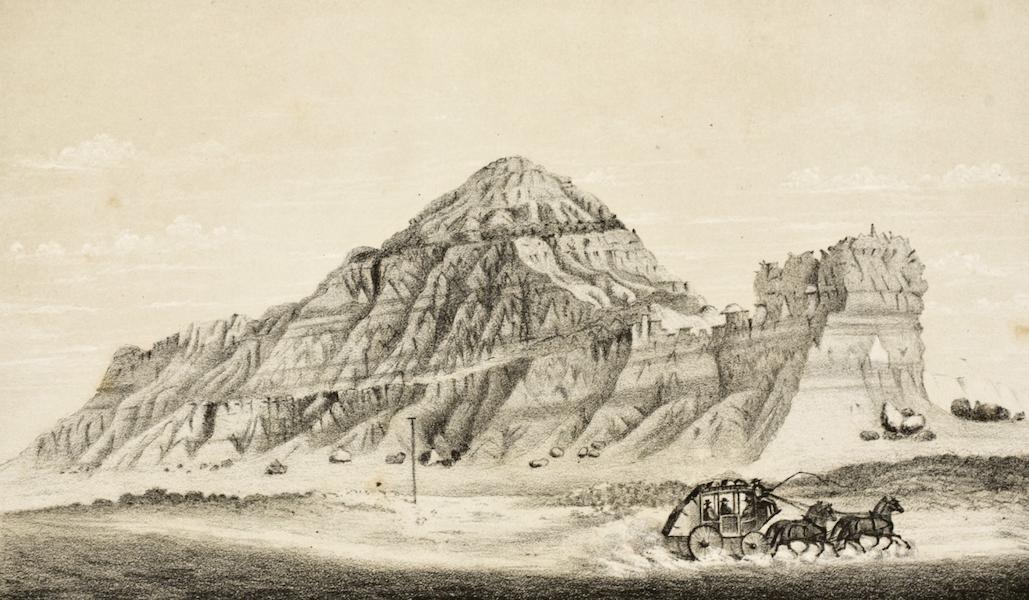 Gems of Rocky Mountain Scenery - Utah Church, Buttes (1869)