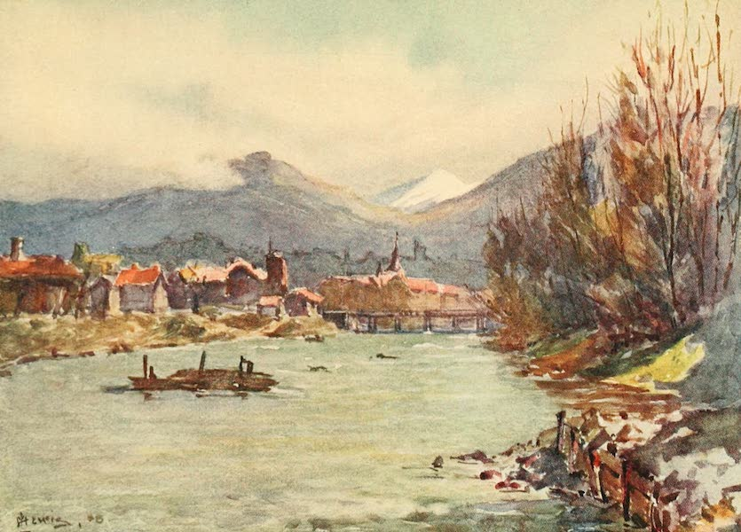 Geneva, Painted and Described - Geneva from the Arve (1908)