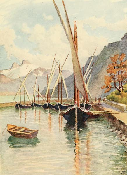 Geneva, Painted and Described - The Bay of Meillerie (1908)