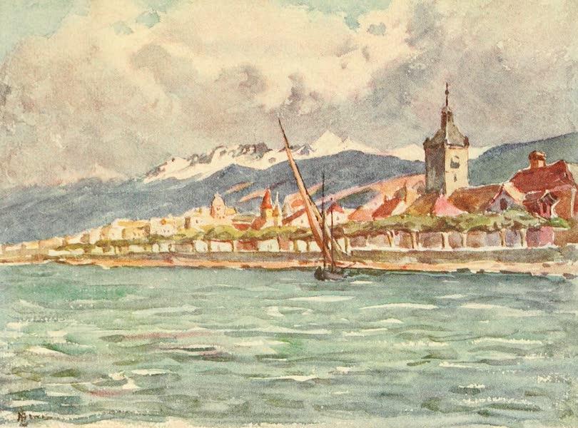 Geneva, Painted and Described - Evian les Bains, Hte. Savoie (1908)