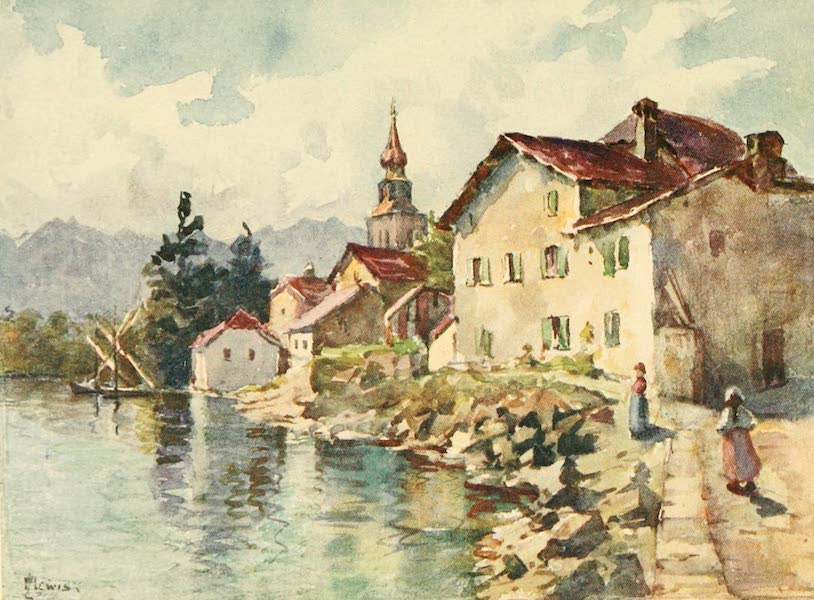 Geneva, Painted and Described - Yvoire, Hte. Savoie (1908)