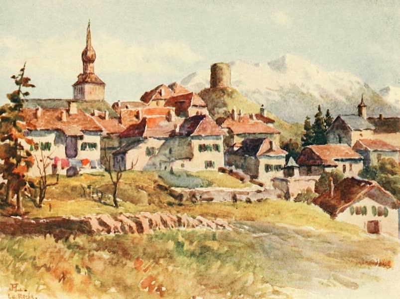 Geneva, Painted and Described - La Roche, Hte. Savoie (1908)