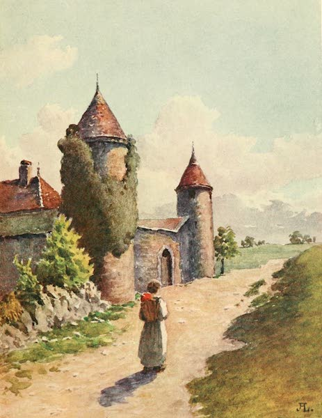 Geneva, Painted and Described - The Castle of Etrembieres, Hte. Savoie (1908)