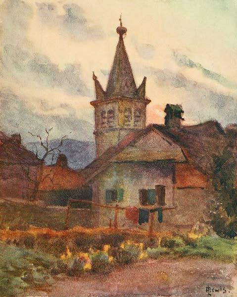 Geneva, Painted and Described - Nemier, Hte. Savoie (1908)