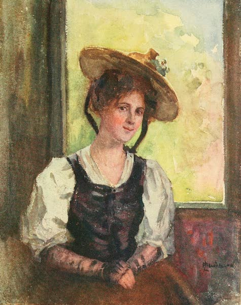 Geneva, Painted and Described - A Vaudoise : Summer (1908)