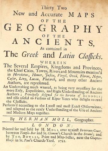 Geography - Geographia Antiqua Latinorum et Graecorum