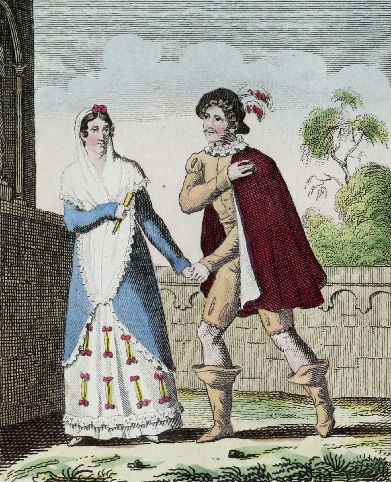 Geographie Vivante, ou, Tableaux Raisonnes - Espagnols (1821)