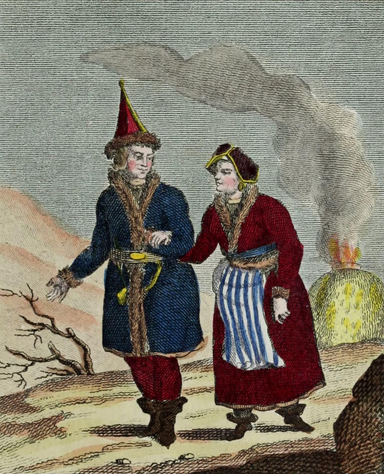 Geographie Vivante, ou, Tableaux Raisonnes - Lapons (1821)