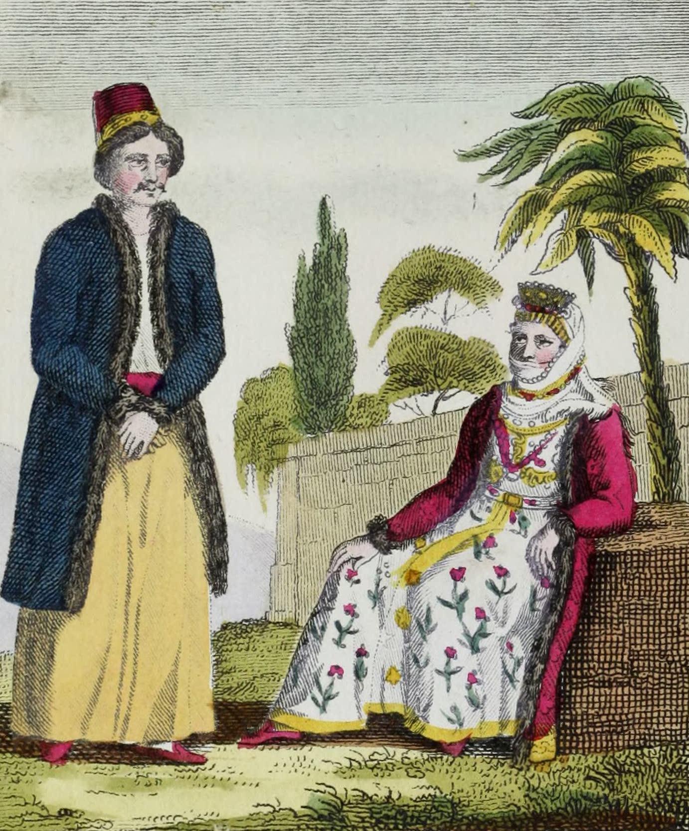 Geographie Vivante, ou, Tableaux Raisonnes - Armeniens (1821)