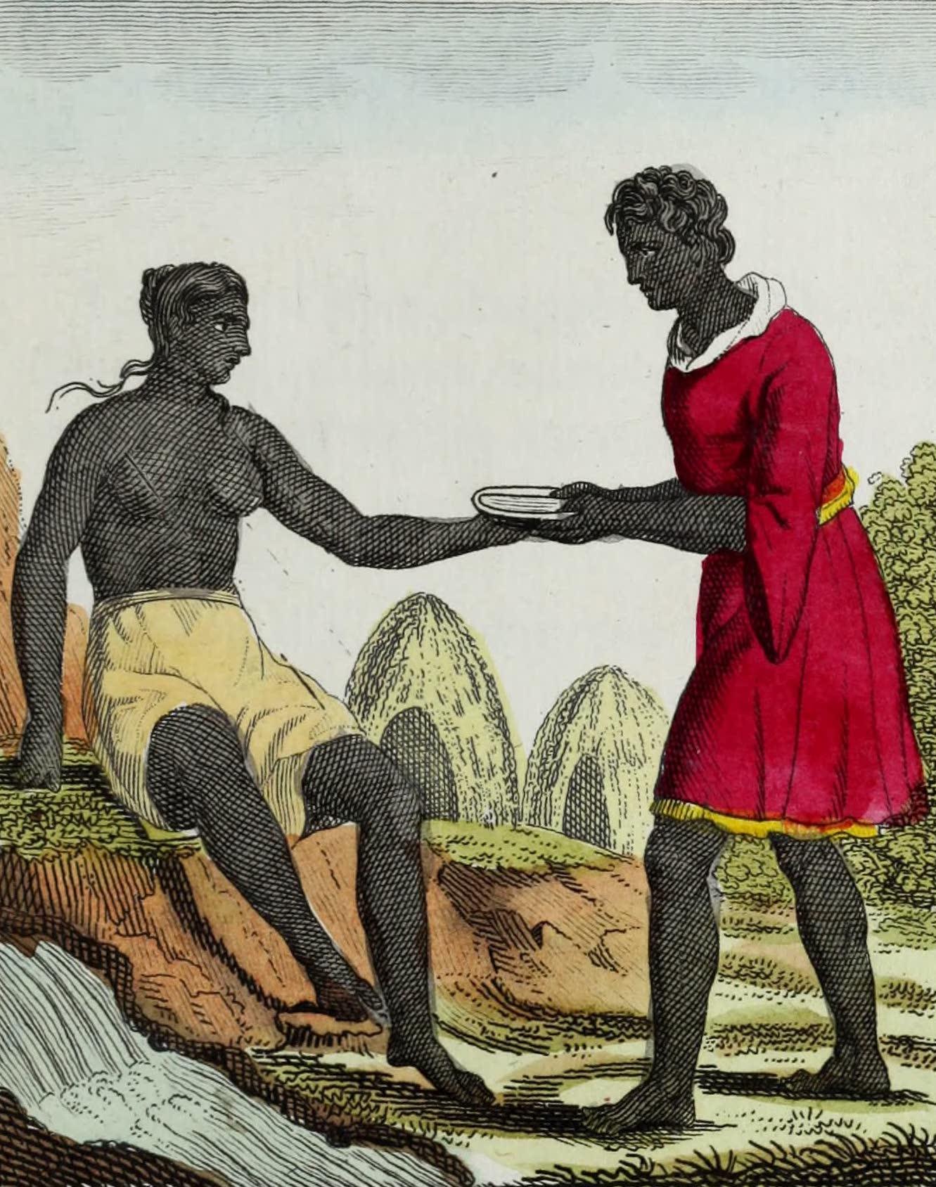 Geographie Vivante, ou, Tableaux Raisonnes - Abyssiniens (1821)