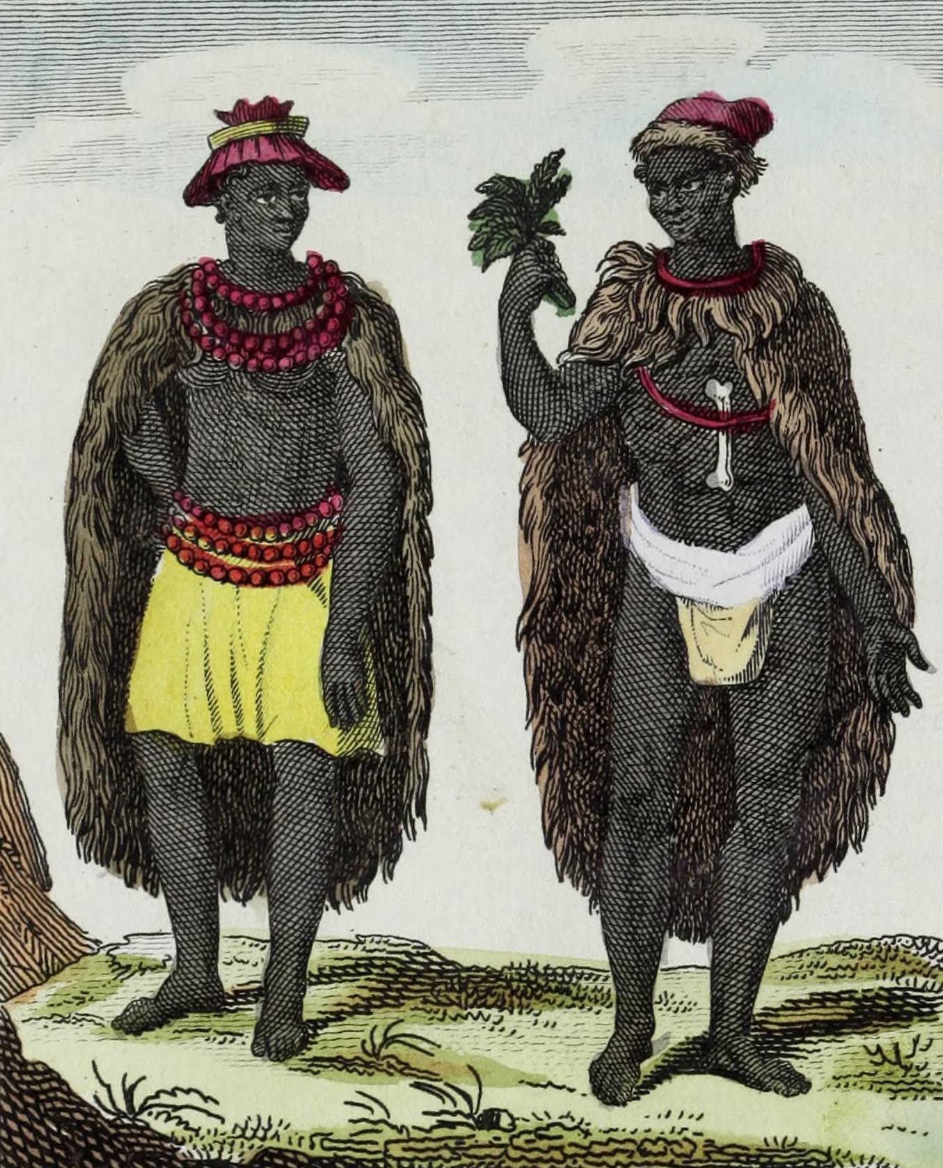 Geographie Vivante, ou, Tableaux Raisonnes - Hottentots (1821)