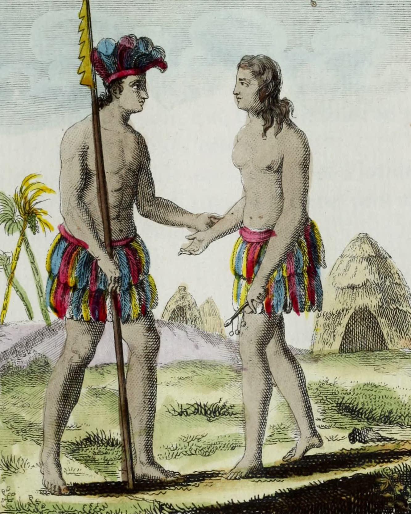 Geographie Vivante, ou, Tableaux Raisonnes - Habitans de la Louisiane (1821)