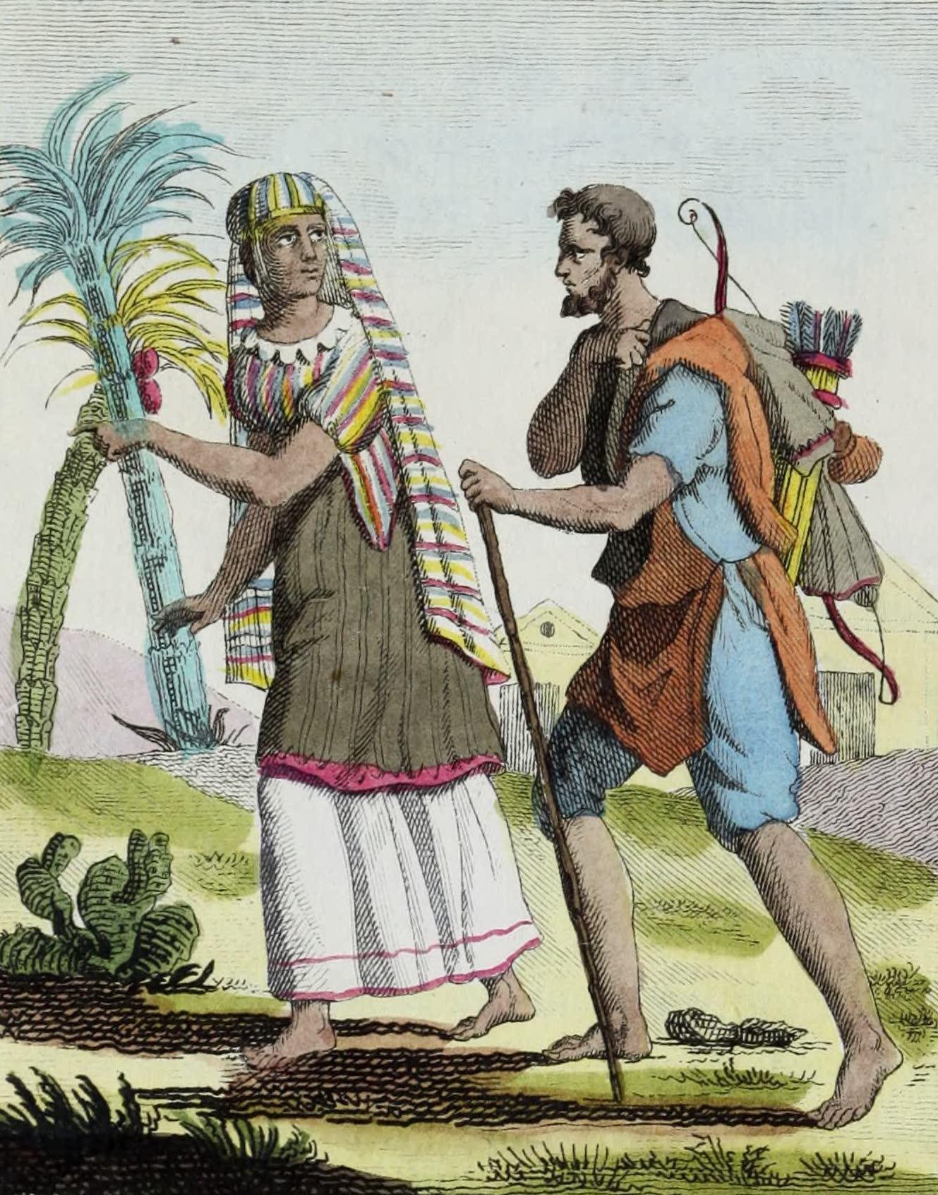 Geographie Vivante, ou, Tableaux Raisonnes - Mexicains (1821)