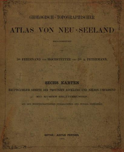 Nan Madol - Geologisch-Topographischer Atlas von Neu-Seeland