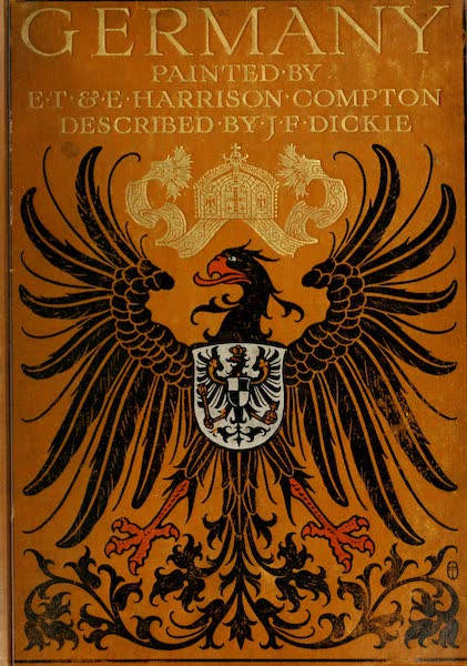 Germany, Painted and Described - Front Cover (1912)