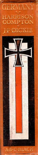 Germany, Painted and Described - Spine (1912)