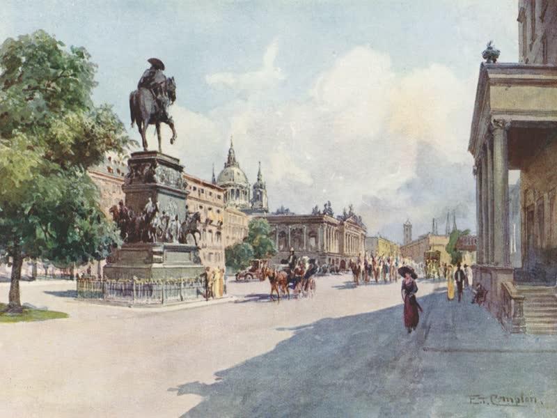 Germany, Painted and Described - Berlin - Unter den Linden (1912)