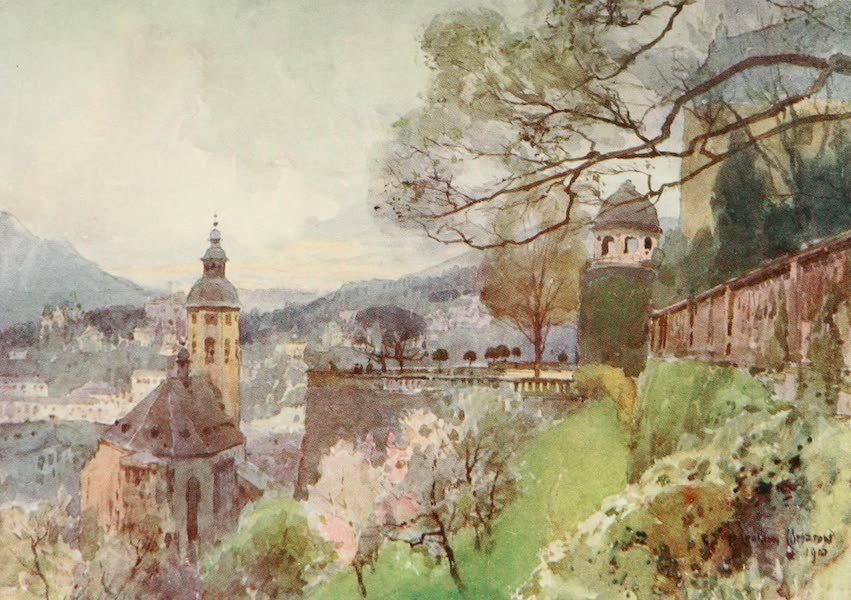 Germany, Painted and Described - Baden-Baden (1912)