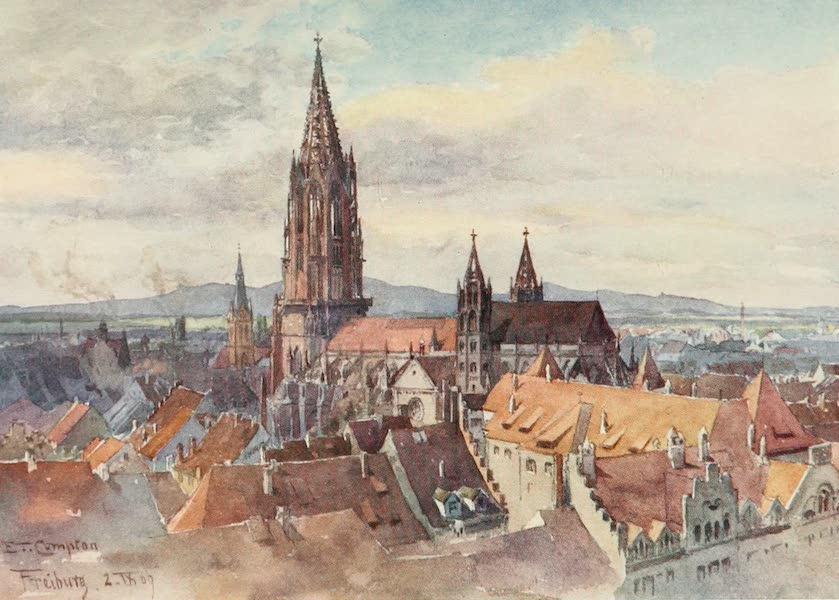 Germany, Painted and Described - Freiburg-im-Breisgau (1912)