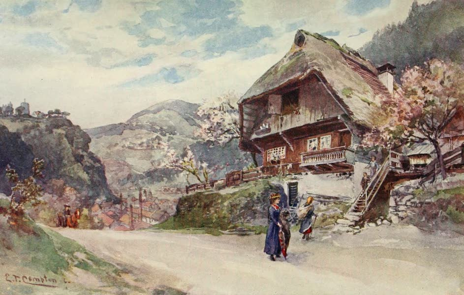Germany, Painted and Described - Hornberg in the Black Forest (1912)
