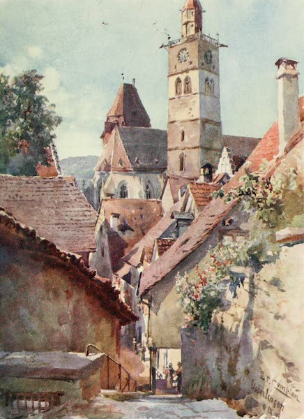 Germany, Painted and Described - Ueberlingen on the Lake of Constance (1912)