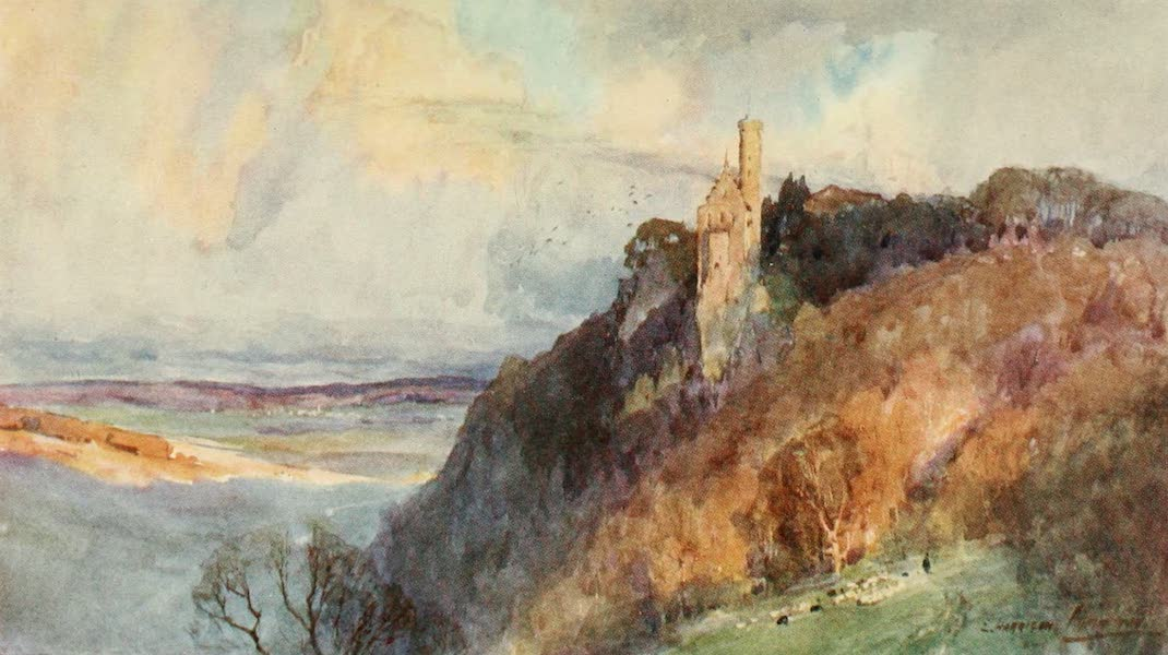 Germany, Painted and Described - Castle of Lichtenstein (1912)